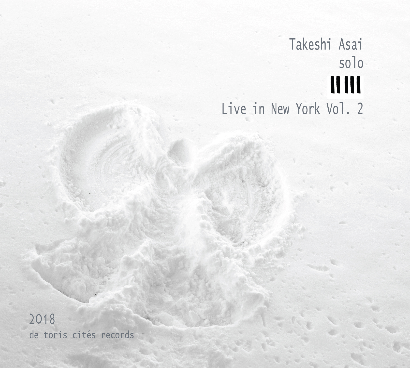 Liner Notes: Takeshi Asai Solo: Live in New York Vol  2 Travis