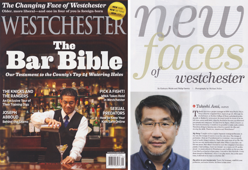 Westchester Magazine January 2014